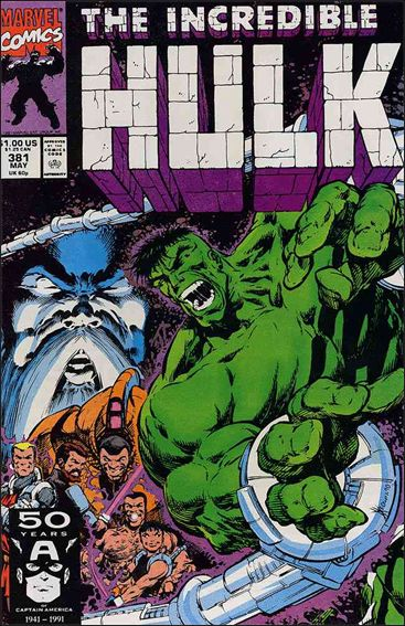 Incredible Hulk (1968) 381-A by Marvel