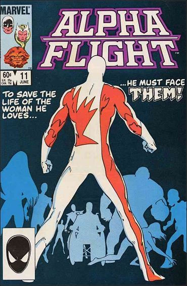 Alpha Flight (1983) 11-A by Marvel