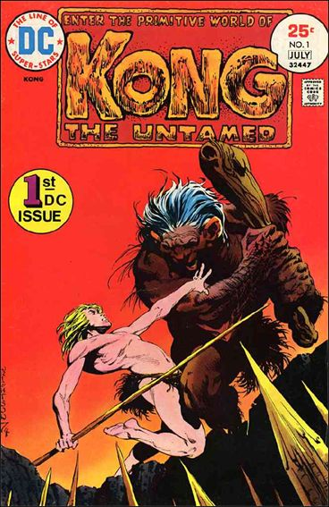 Kong the Untamed 1-A by DC