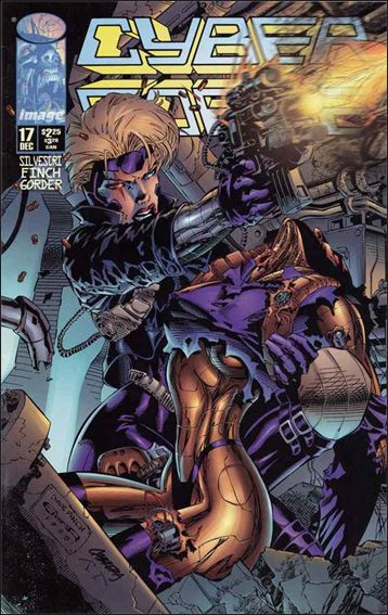 Cyberforce (1993) 17-A by Image