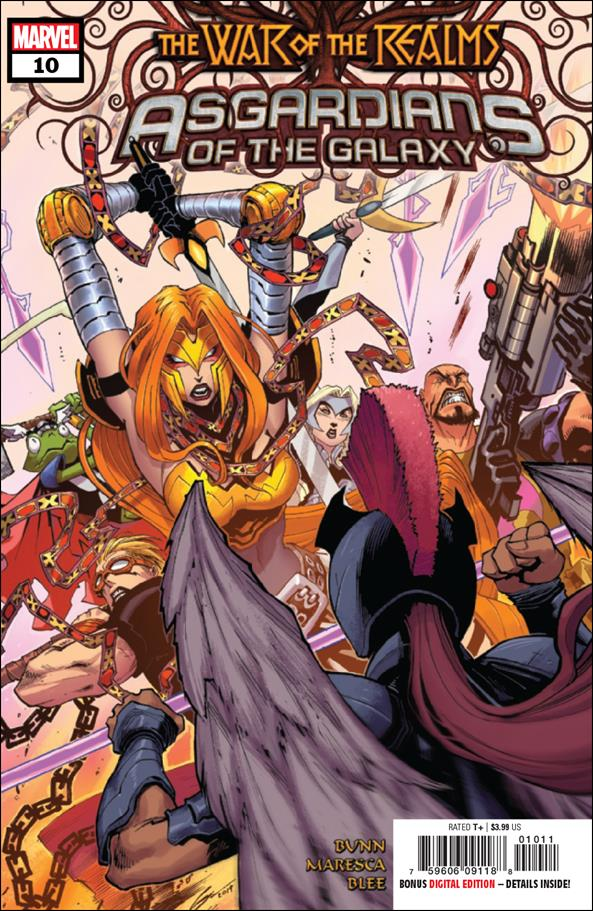 Asgardians of the Galaxy 10-A by Marvel