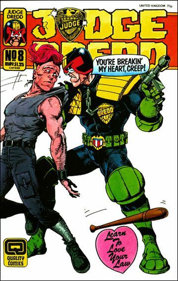 Judge Dredd (1987) (UK) 8-A by Quality Comics