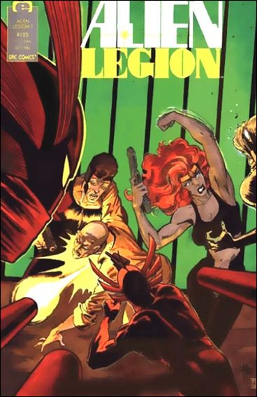 Alien Legion (1987) 7-A by Epic