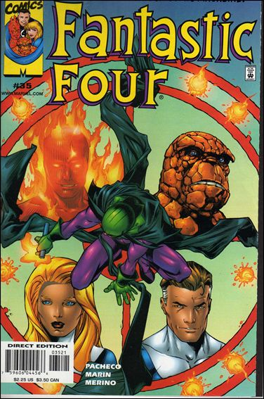 Fantastic Four (1998) 35-B by Marvel