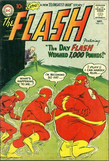 Flash (1959) 115-A by DC