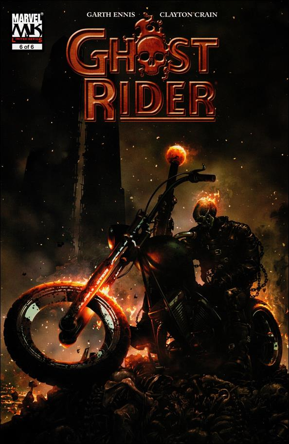 Ghost Rider (2005) 6-A by Marvel