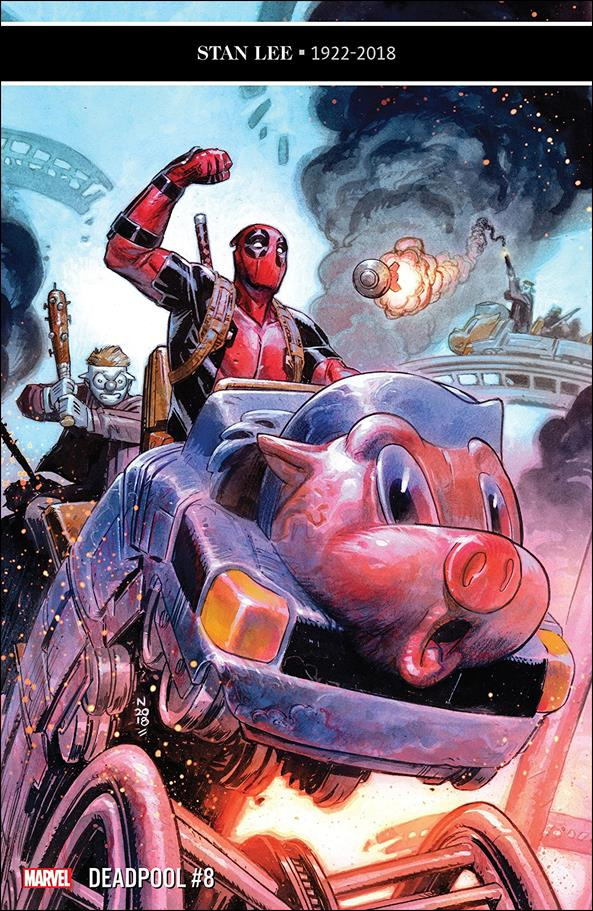 Deadpool (2018) 8-A by Marvel