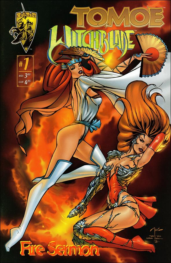 Tomoe/Witchblade: Fire Sermon 1-A by Crusade