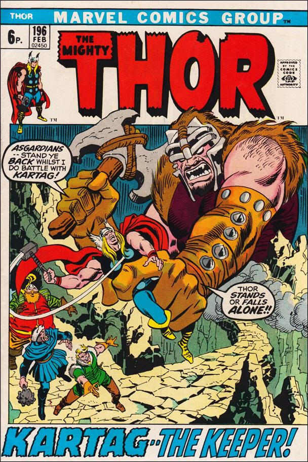 Thor (1966) 196-B by Marvel