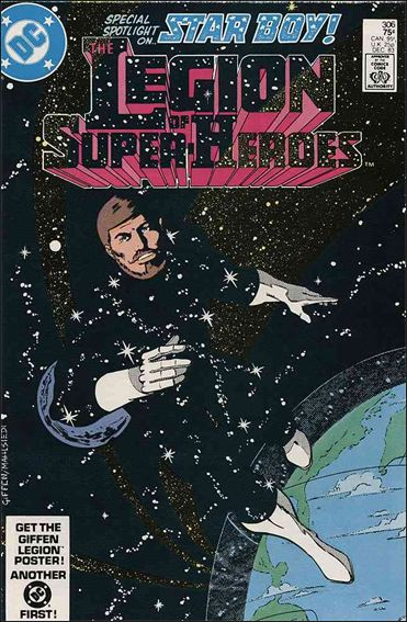 Legion of Super-Heroes (1980) 306-A by DC