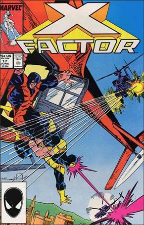 X-Factor (1986) 17-A