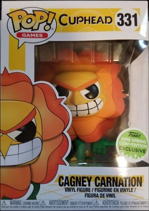 POP! Games Cagney Carnation 2018 Spring Convention Exclusive