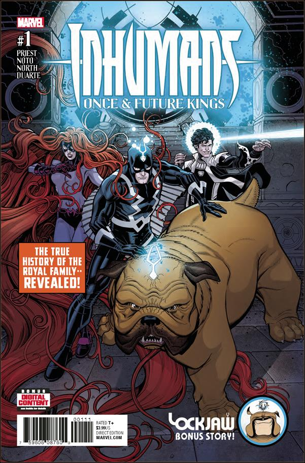 Inhumans: Once and Future Kings 1-A by Marvel