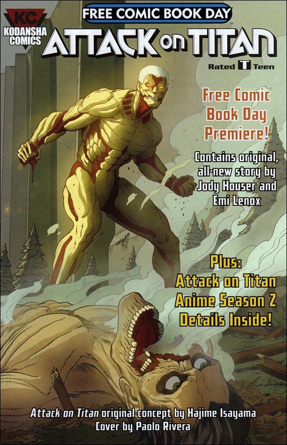 Attack on Titan Anthology 2017-A by Kodansha Comics