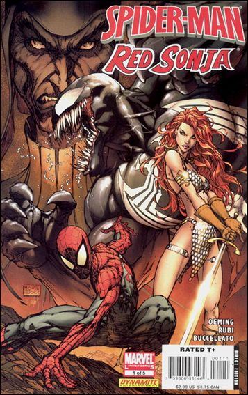 Spider-Man/Red Sonja 1-A by Marvel