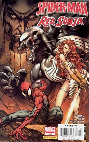 Spider-Man/Red Sonja 1-A
