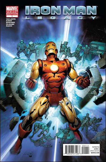 Iron Man Legacy 1-B by Marvel