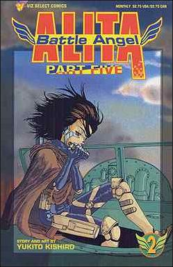 Battle Angel Alita Part 5 2-A by Viz