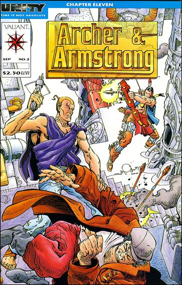Archer & Armstrong (1992) 2-A by Valiant