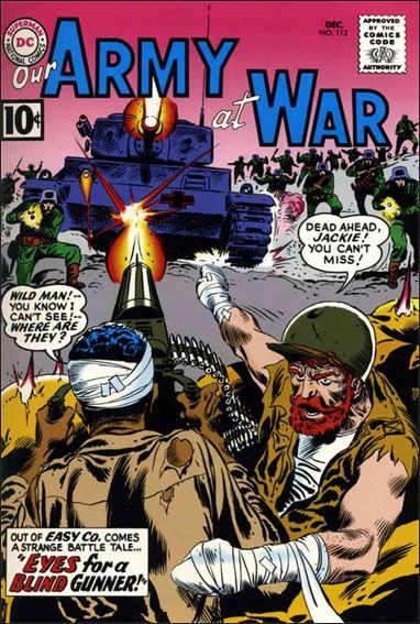Our Army at War (1952) 113-A by DC