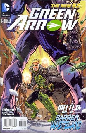 Green Arrow (2011) 9-A