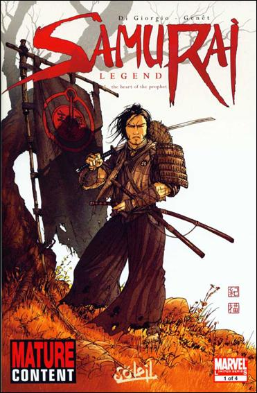 Samurai: Legend 1-A by Marvel