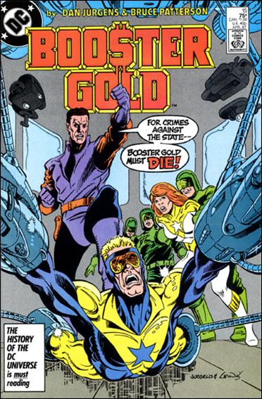 Booster Gold (1986) 15-A by DC