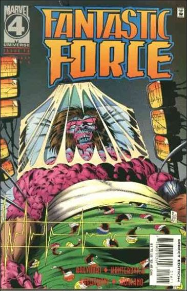 Fantastic Force (1994) 16-A by Marvel