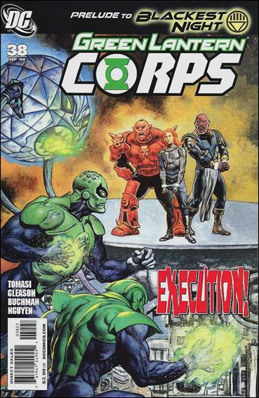 Green Lantern Corps (2006) 38-B by DC