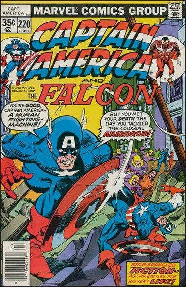 Captain America (1968) 220-A by Marvel