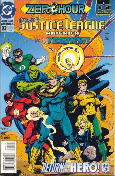 Justice League America 92-A by DC