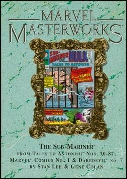 Marvel Masterworks: The Sub-Mariner 1-B by Marvel