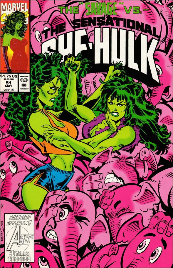 Sensational She-Hulk 51-A by Marvel