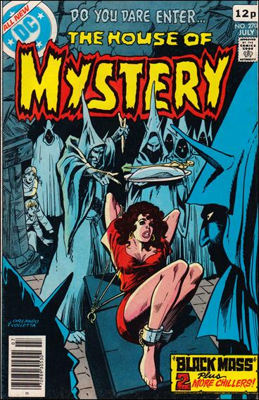 House of Mystery (1951) 270-B by DC