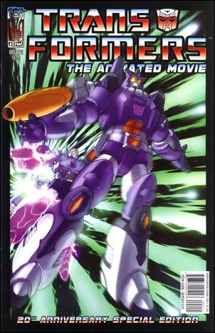 Transformers: The Animated Movie 2-A by IDW