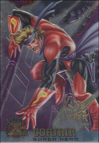 1995 Fleer Ultra X-Men All Chromium (Gold Signature Parallel Base Set) 50-A by Fleer