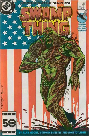 Saga of the Swamp Thing 44-A by DC