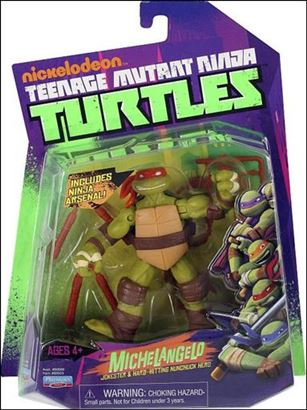 Teenage Mutant Ninja Turtles (2012) Michelangelo