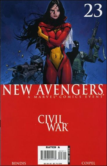 New Avengers (2005) 23-A by Marvel