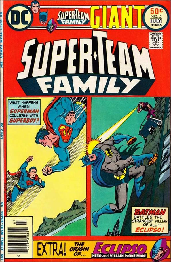 Super-Team Family 5-A by DC