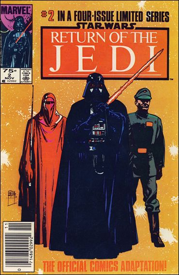 Star Wars: Return of the Jedi 2-B by Marvel