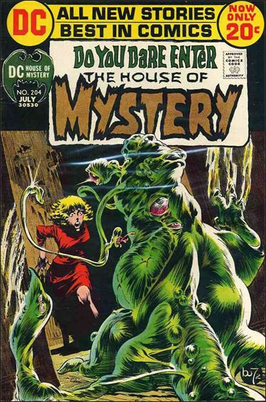 House of Mystery (1951) 204-A by DC