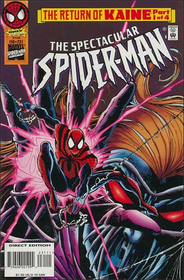 Spectacular Spider-Man (1976) 231-A by Marvel