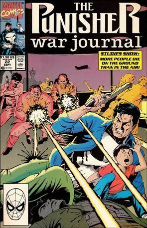 Punisher War Journal (1988) 22-A