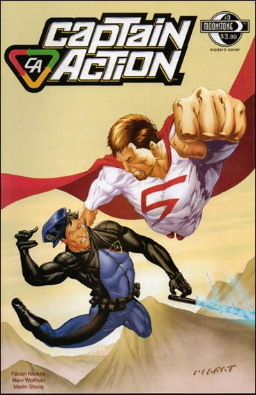 Captain Action Comics 3-A by Moonstone