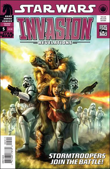 Star Wars: Invasion - Revelations 5-A by Dark Horse