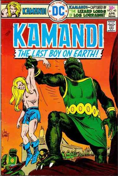 Kamandi, the Last Boy on Earth 40-A by DC