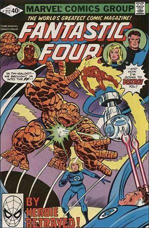 Fantastic Four (1961) 217-A