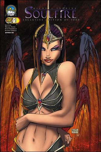 Michael Turner's Soulfire (2004) 1-E by Aspen