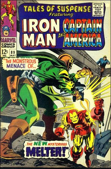 Tales of Suspense (1959) 89-A by Marvel